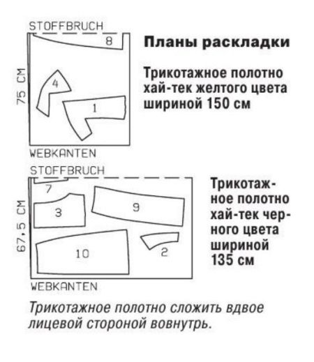O alinhamento dos detalhes do vestido