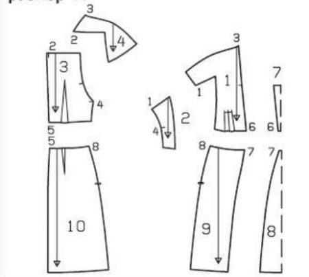 Vestido de malha padrão com mangas