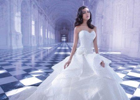 Lage taille bustier jurk