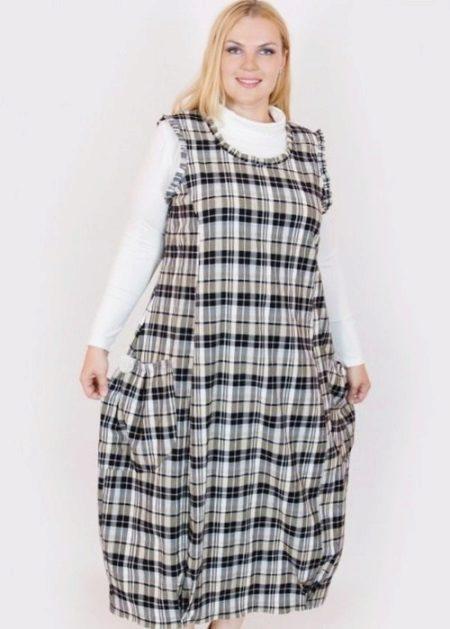 Sjekk kjolehilsen for overvektige kvinner