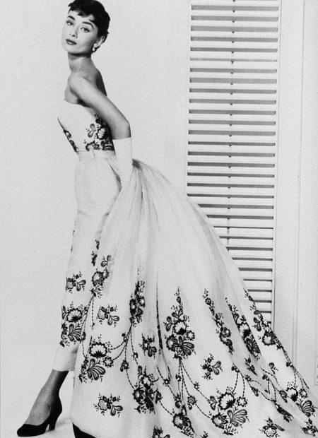 Vestido longo noite 60s