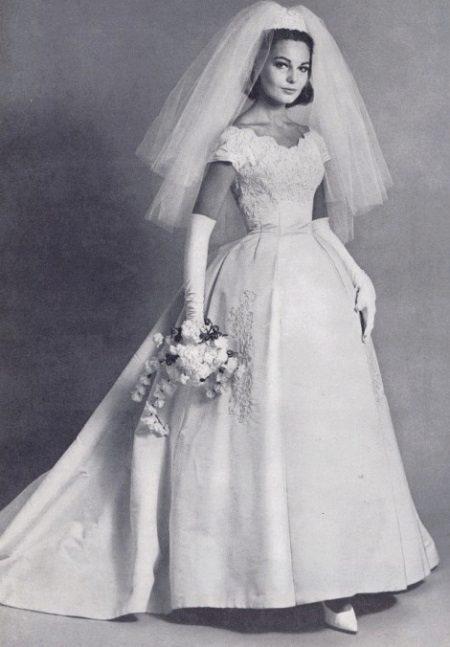 Vestido de casamento 60s