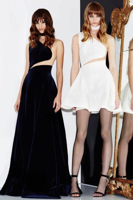 Slim evening dress