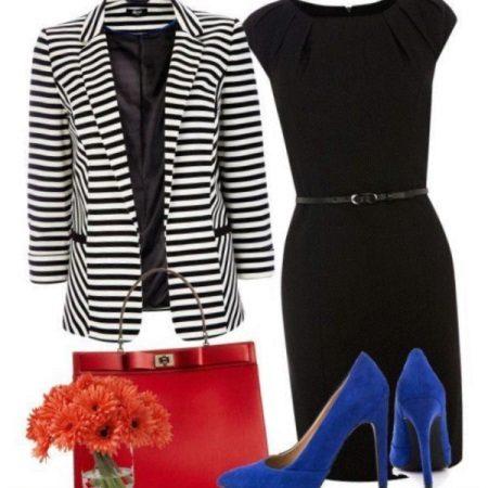 Acessórios para vestido preto