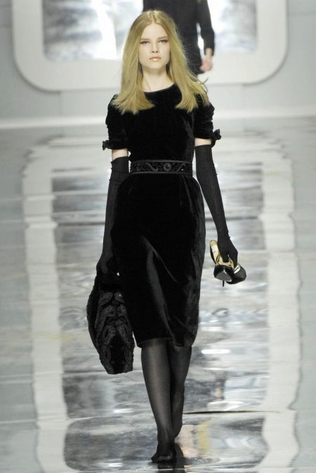 Acessórios Black Midi Dress