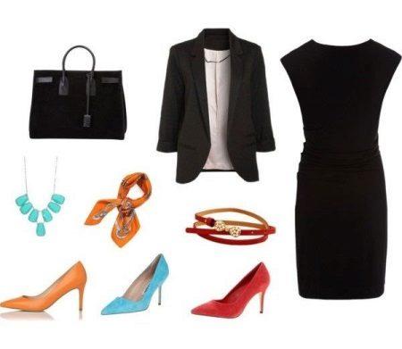 Xaile vestido preto