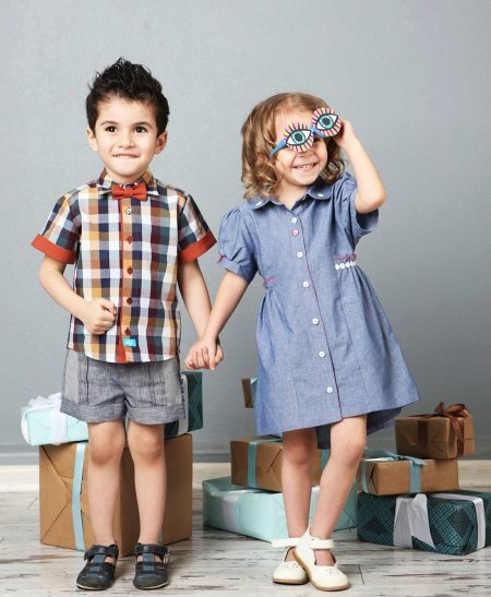 Camisa de vestido de verão para meninas