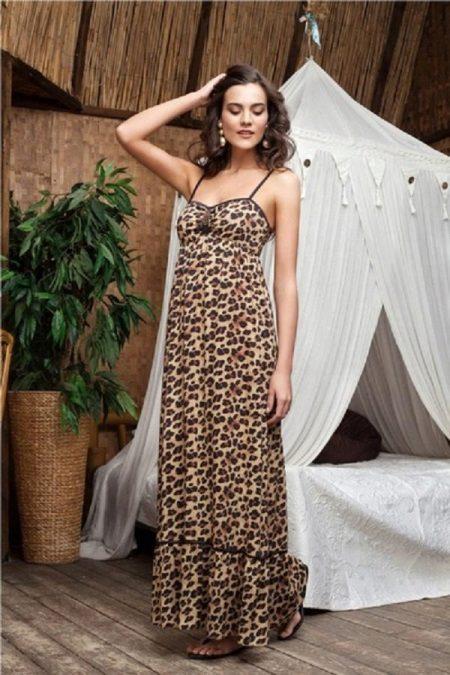 vestido de verão de cambric