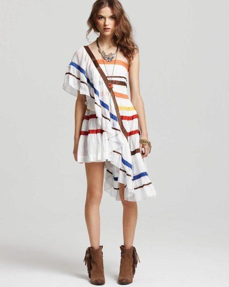 Vestido de batis naturais