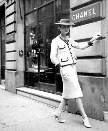 Chanel Tweed-puku