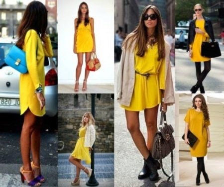 Yellow dress combinations