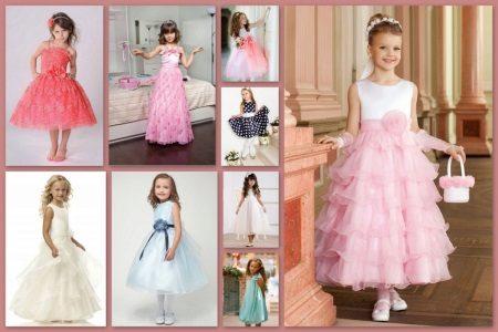 Acessórios para o vestido de formatura para o jardim de infância