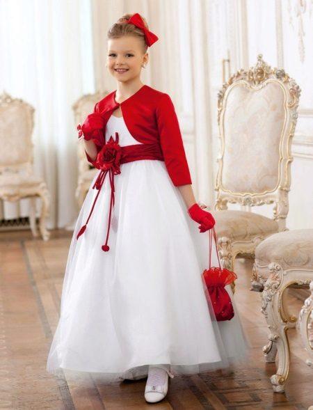 Bolero ao vestido de baile ao jardim de infância