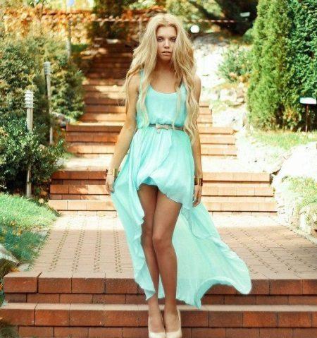 A sifonból készült nyári ruhát csináld magad