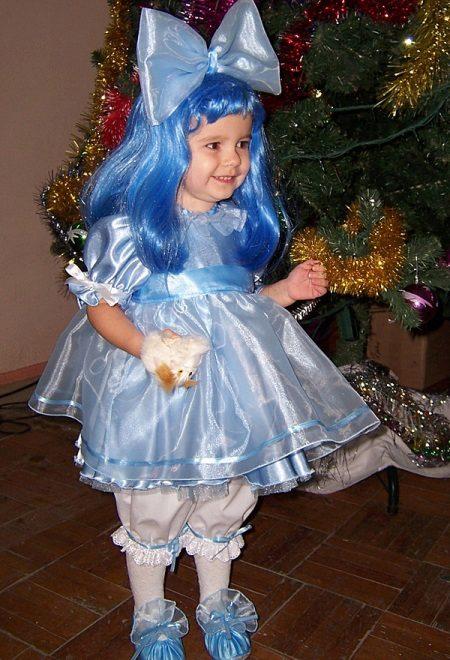 Vestido de Natal da Malvina para a menina
