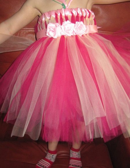 Tutu ruha szoknya egy lánynak - 2. lehetőség