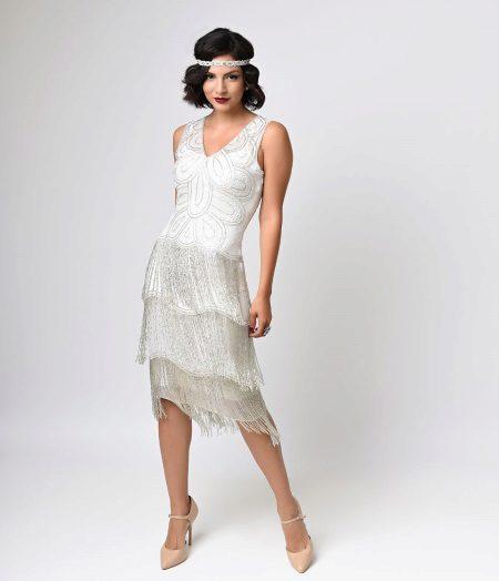 Fringed mekko