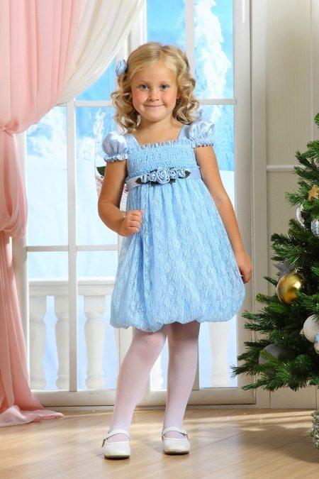 vestido para menina 5 anos estilo baby-doll