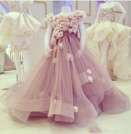 Designer elegante vestido fofo para meninas