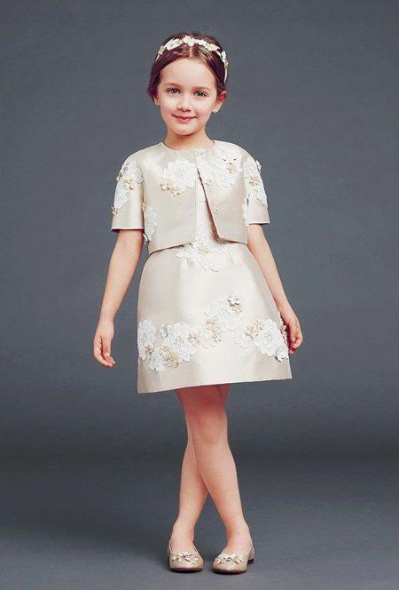 Vestido magnífico inteligente para a menina de Dolche Gabano