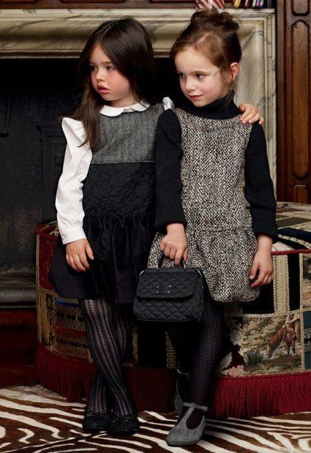 Vestido de inverno vestido de verão para meninas