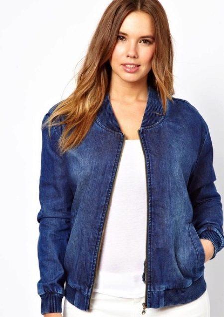 Jeansjacken in Übergröße 42 Fotos: Jeans für volle Sommermodelle