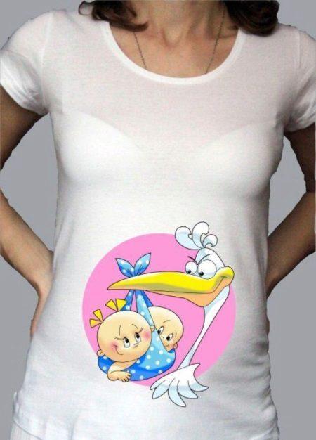 Mga nakakatawang T-shirt (75 larawan): para sa mga batang