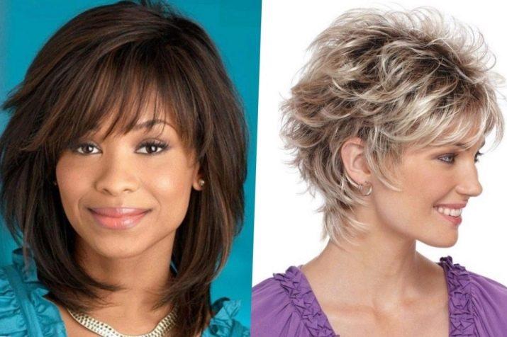 Potongan Rambut Pendek Untuk Wajah Bulat 86 Gambar Gaya Rambut Wanita 2019 Yang Akan Sesuai Dengan Wanita Berusia Lebih 50 Tahun Dan Pilihan Untuk Rambut Halus Pilihan Bangs Dan Nuansa Prestasi Untuk Wanita Gemuk